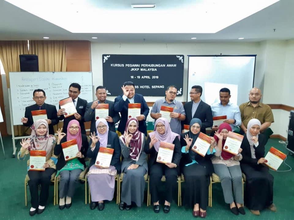 Kursus Pegawai Perhubungan Awam | Jabatan Keselamatan Dan Kesihatan Pekerjaan Malaysia | 16 -19 April 2019
