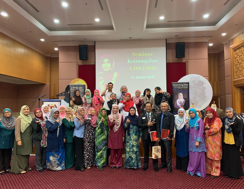 Seminar Ketrampilan Imej Jabatan Pembangunan Kemahiran Malaysia Pada 15 Januari 2020