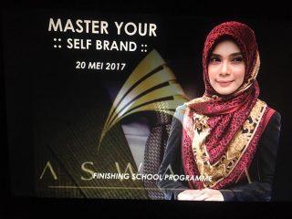 Aswara Finishing School Programme : Master Your Self Brand| 20 Mei 2017