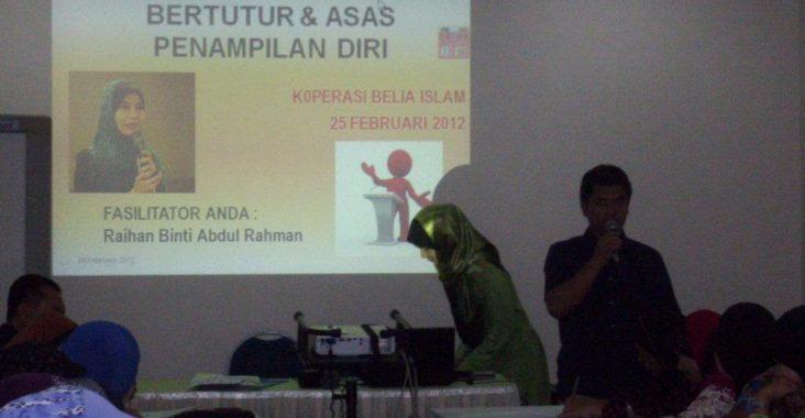 Ketrampilan Bertutur | Koperasi Belia Islam | 25 Februari 2012