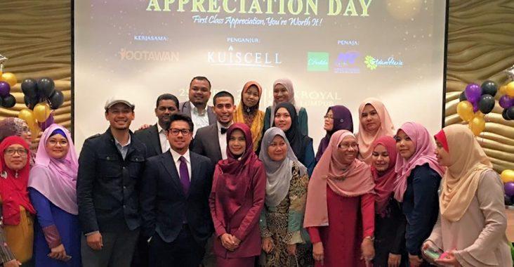Go Elegant Go Confident |Secretary Appreciation Day Kuiscell| 25 April 2016