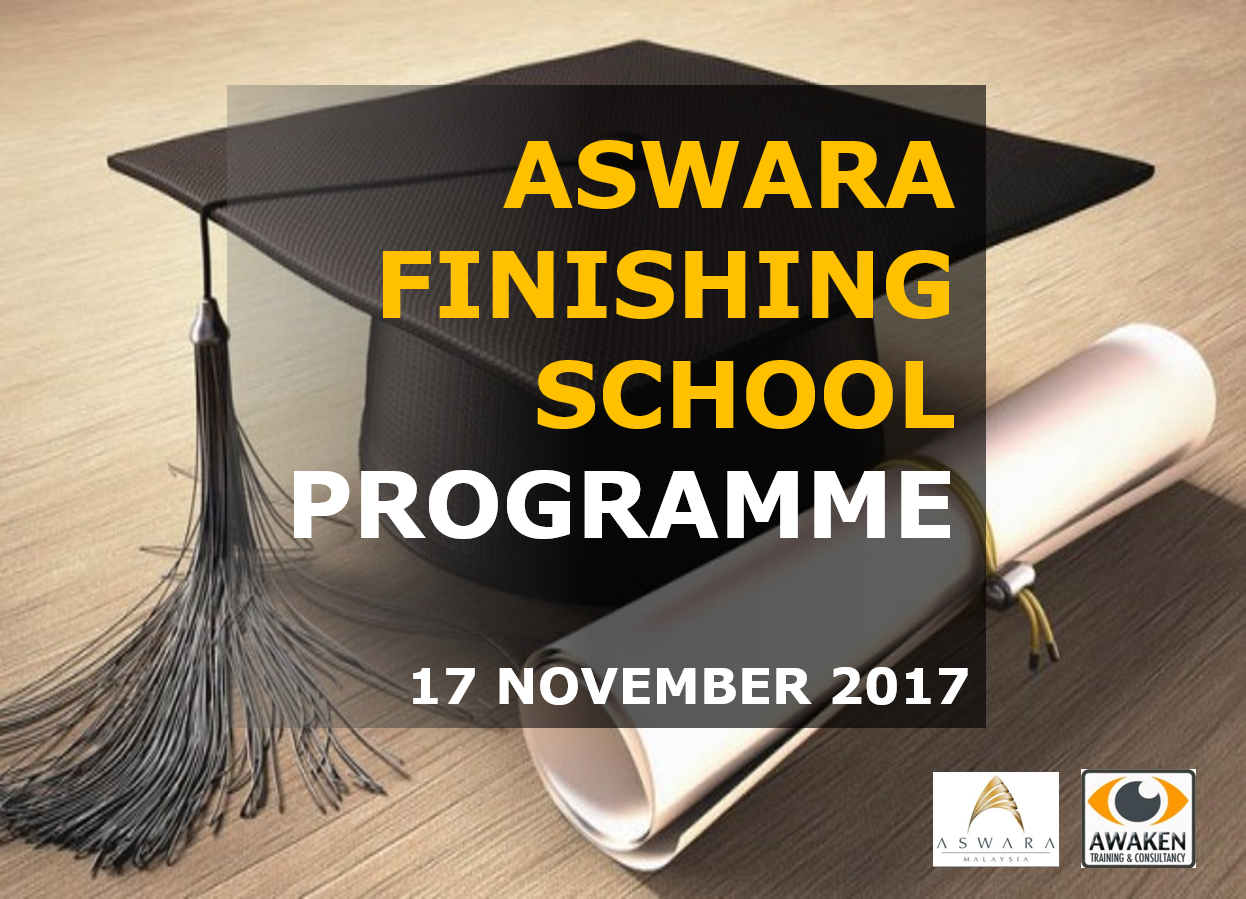 Finishing School Programme | Aswara | 17 November 2017