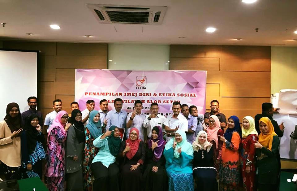 Kursus Keterampilan Diri Dan Etiket Sosial Felda Wilayah Alor Setar – 25 Julai 2018