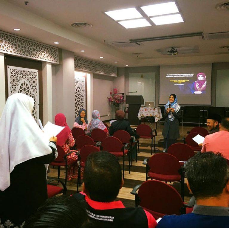 Kursus Transformasi Penampilan Dalam Imej Kelas Pertama JAIS | 14 Ogos 2018