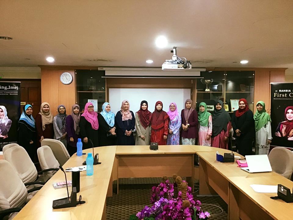 Kursus Transformasi Penampilan Dan Imej Profesional SUK Selangor Pada 3 Ogos 2018
