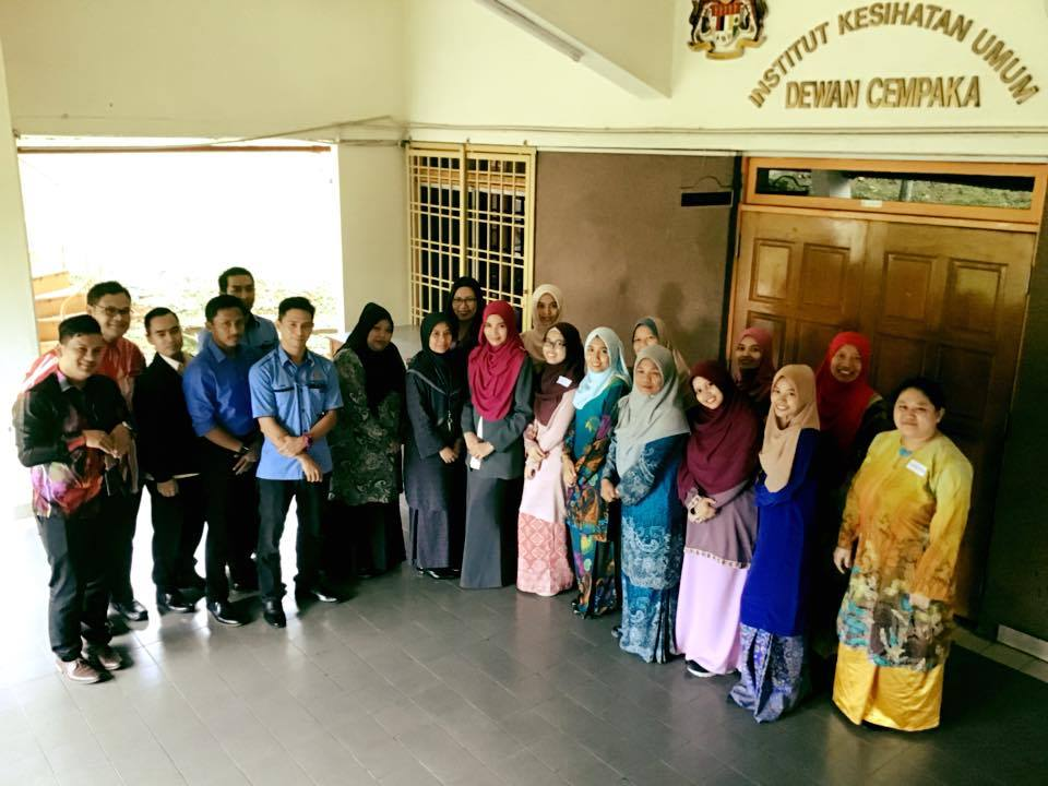 Kursus Transformasi Penampilan Dalam Imej Profesional Institut Kesihatan Umum Pada 11 Oktober 2018
