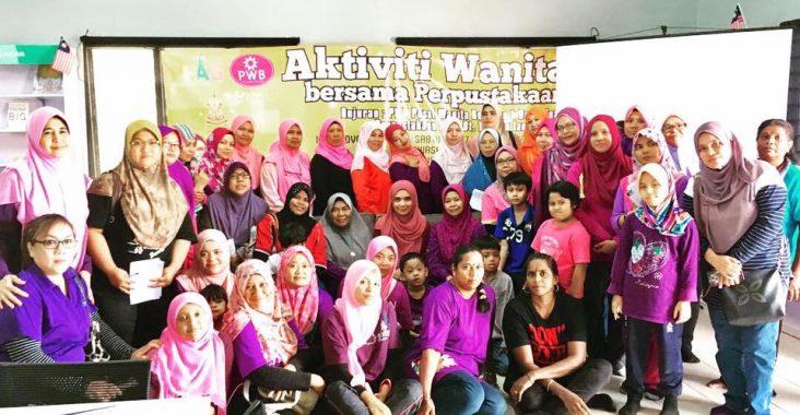 Seminar Wanita Anggun Dan Bijak – Aktiviti Wanita Bersama Perpustakaan PWB Dusun Tua Pada 10 November 2018