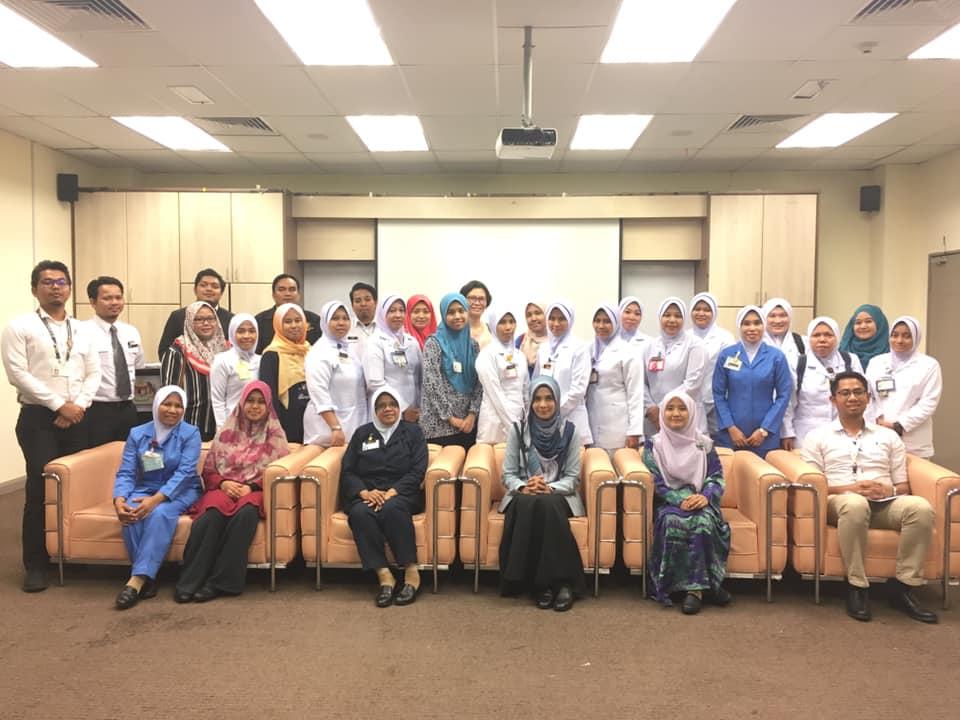 Kursus Kaunter Berkualiti Dan Komunikasi Berkesan | Pejabat Kesihatan Cheras | 2 April 2019