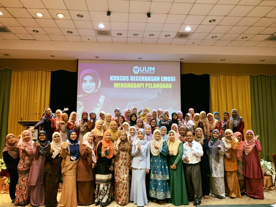Kursus Kecerdasan Emosi Menghadapi Pelanggan | Universiti Utara Malaysia | 15 Mac 2020