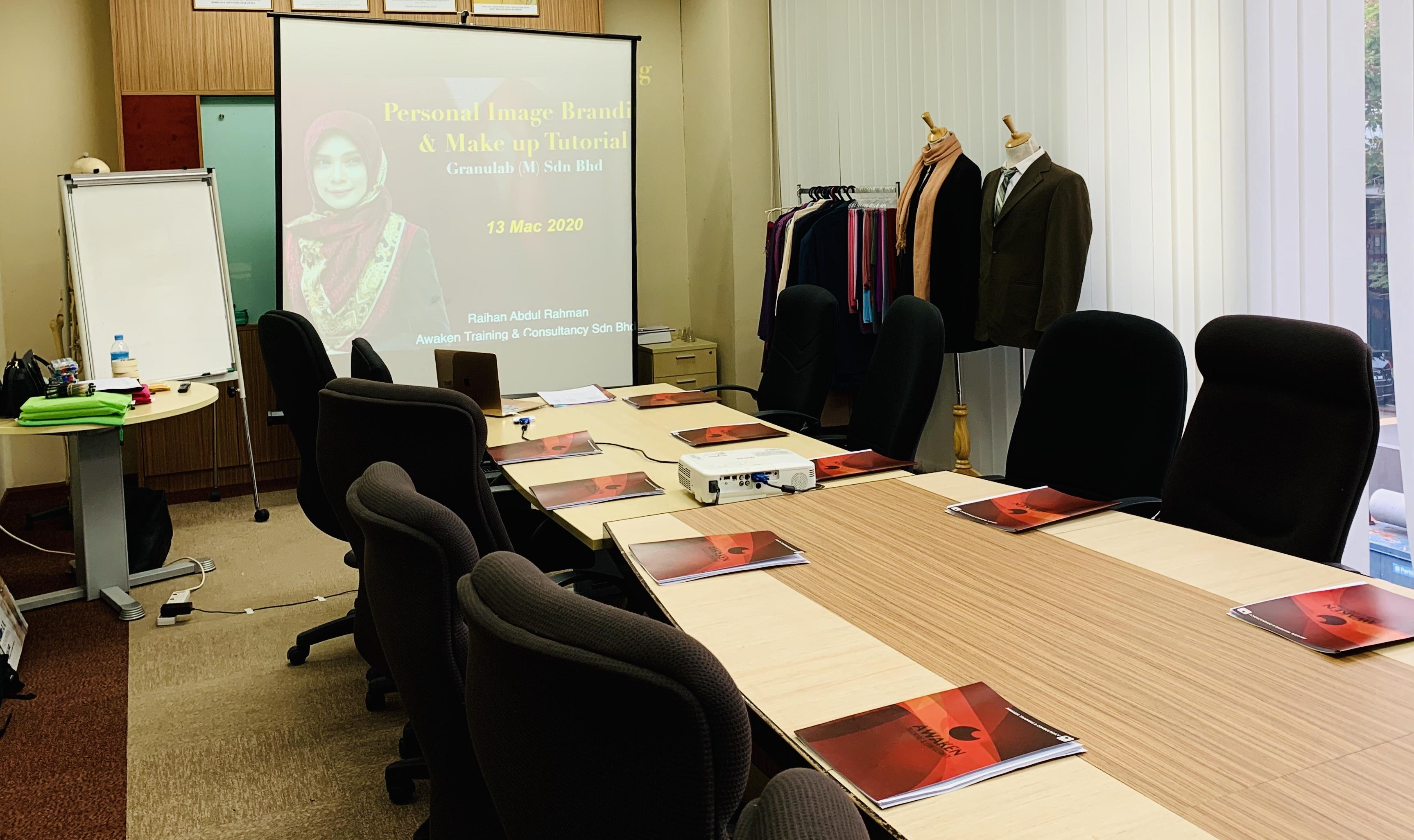 Kursus Personal Image Branding & Make Up Tutorial | Granulab (M) Sdn Bhd | 13 Mac 2020