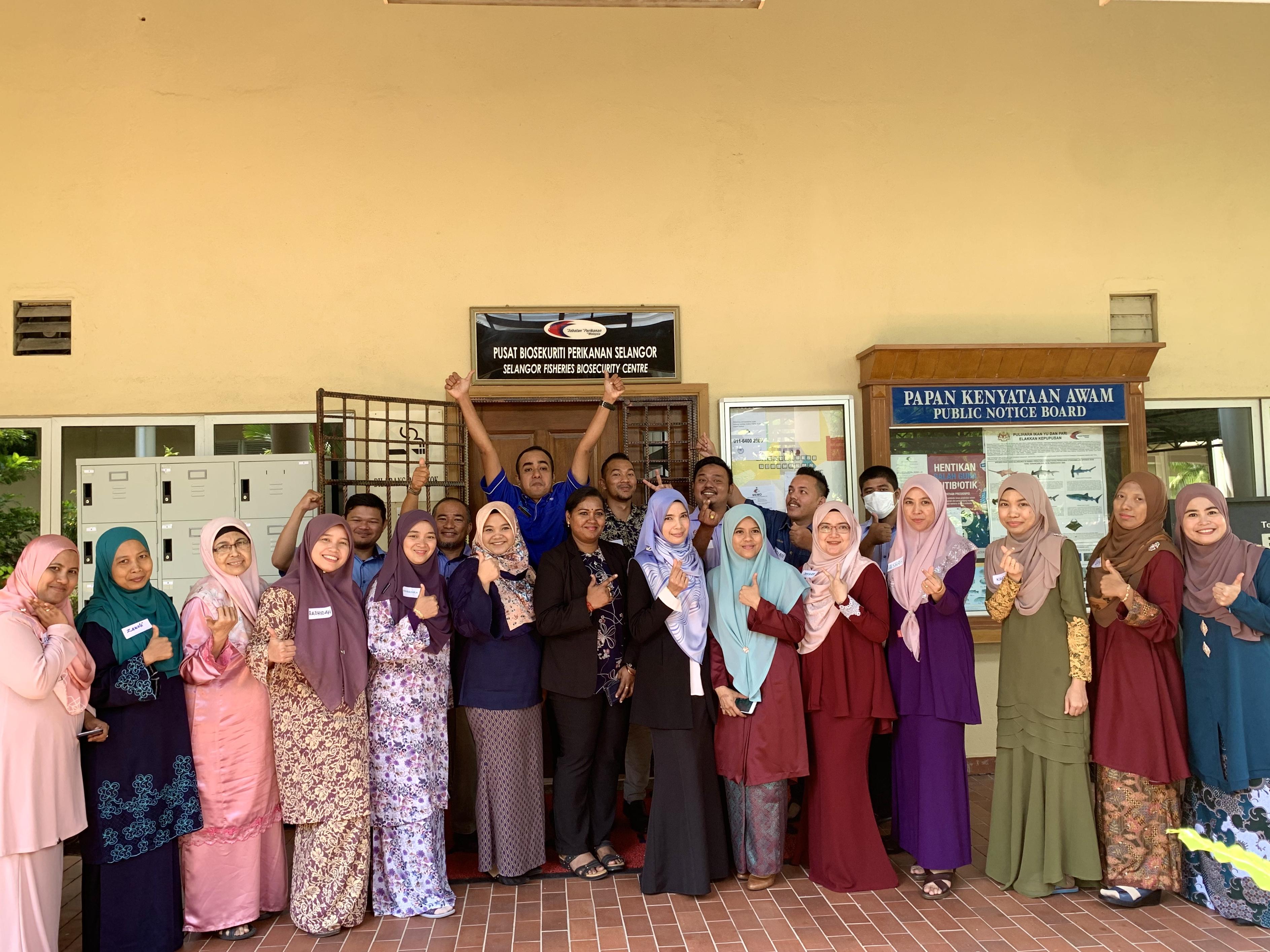 Kursus Penampilan Diri Dan Etiket Barisan Hadapan Pusat Biosekuriti Perikanan Selangor Pada 9 Mac 2020