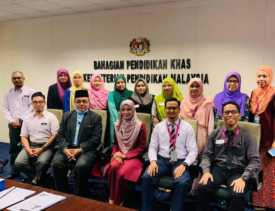 Kursus Transformasi Ketrampilan Diri & Imej Profesional Bahagian Pendidikan Khas Kementerian Pendidikan Malaysia Pada 24 Jun 2020