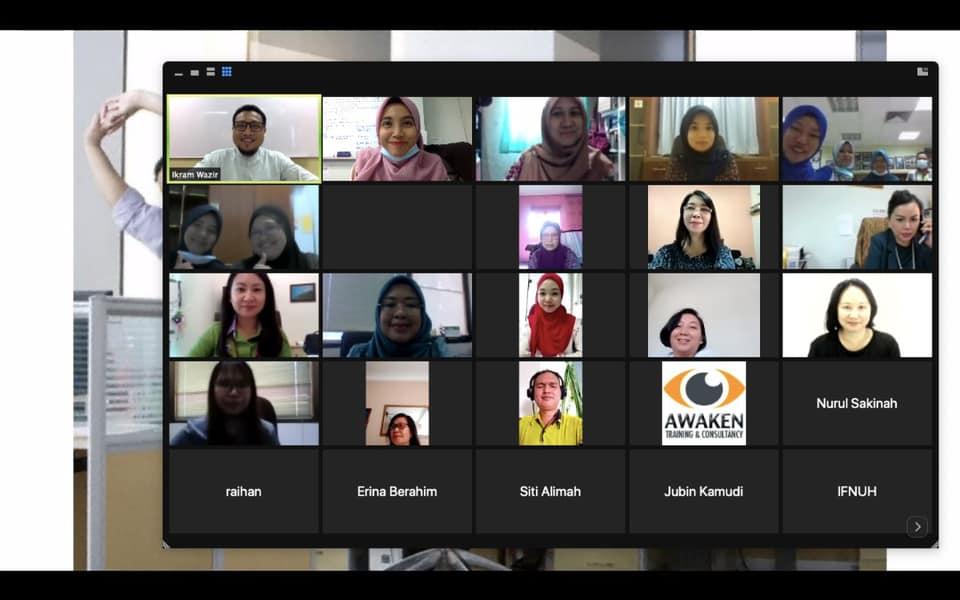 Kursus Penulisan Laporan Dan Kertas Kerja Institut  Latihan Sektor Awam Negeri Pada 19 – 20  November 2020