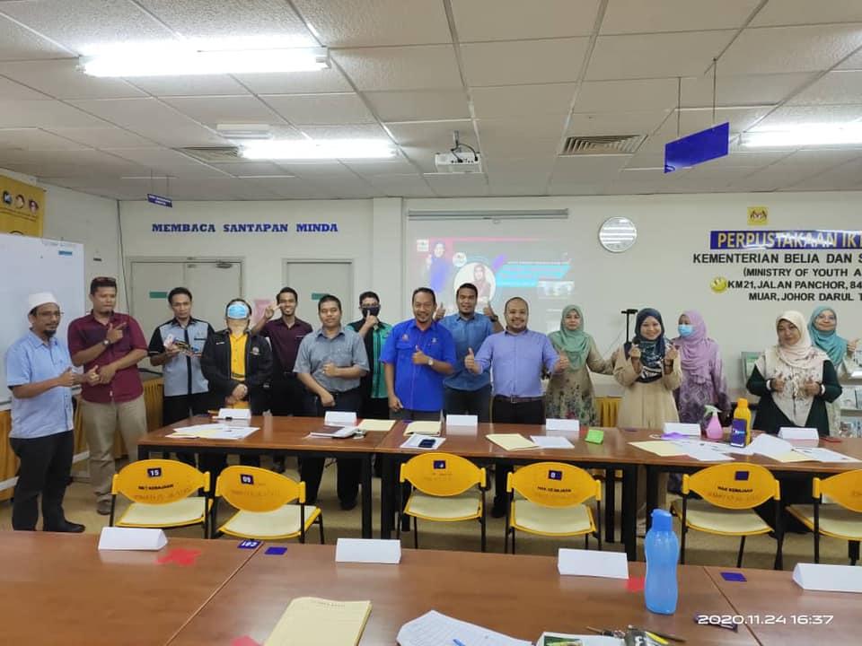 Kursus Online Imej Dan Etiket Sosial Institut Kemahiran Tinggi Belia Negara Pagoh | 23 -24 November 2020
