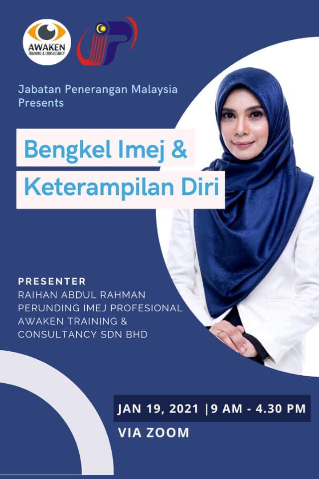 Bengkel Keterampilan Diri Online Jabatan Penerangan Malaysia