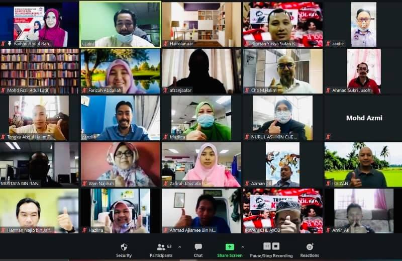 Kursus Online Perkhidmatan Pelanggan Berkualiti Perpustakaan Sultanah Nur Zahirah UMT Pada 23-24 Februari 2021